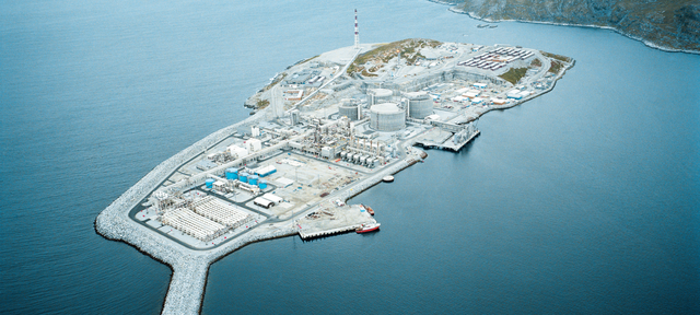 LNG plant at Hammerfest, Norway