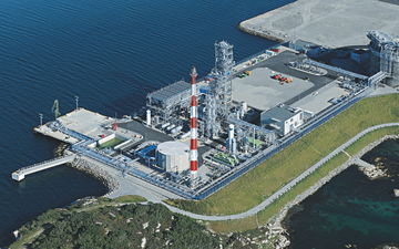 LNG plant for Lyse Infra AS in Stavanger, Norway