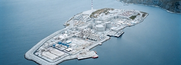 Northern Norway: Linde built the Europe's largest LNG plant for Statoil on the peninsula Melkoya, next to Hammerfest, Europe's northern-most city.