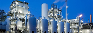 Hydrogen Plant in Ludwigshafen, Germany / Customer BASF / PSA Pressure Swing Adsorption Plant