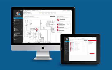 Linde PLANTSERV performance and efficiency, LINDE PLANTSERV Portal. Innovate.